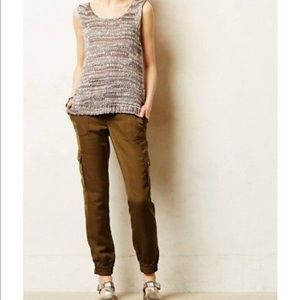 Elevenses for Anthropologie Aubrey Cargo Trousers
